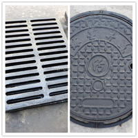 ductile cast iron manhole cover and gully grate
