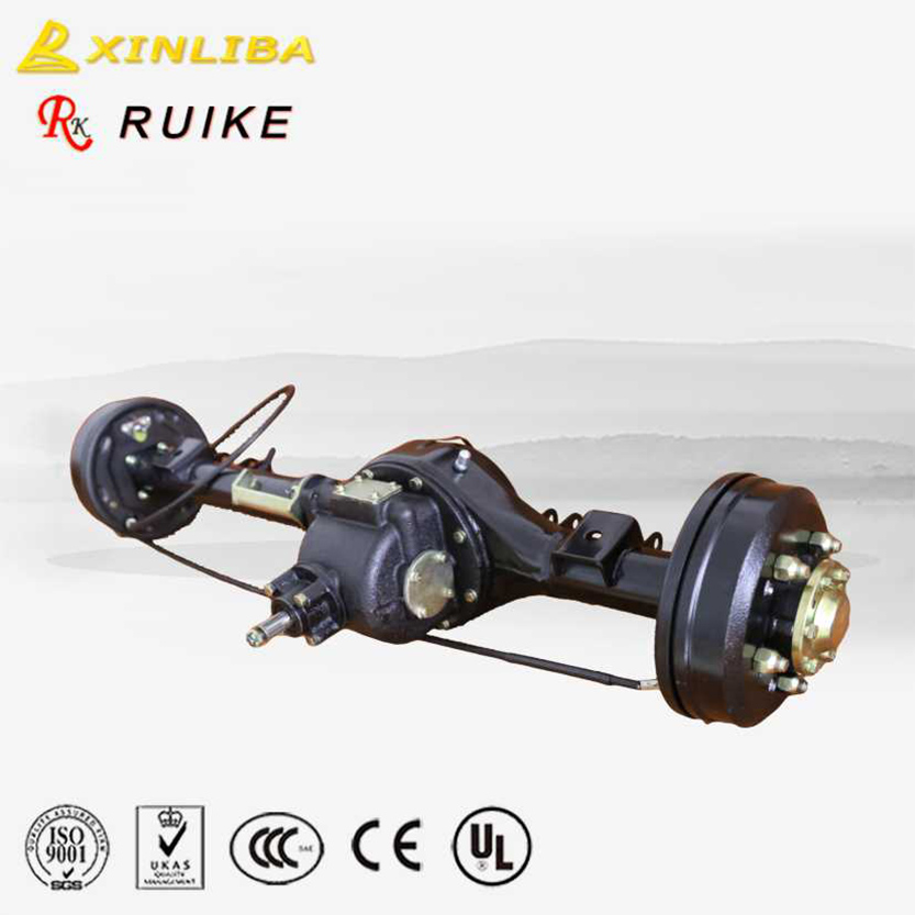 China gasoline big rear <strong>axle</strong> assembly for tricycle
