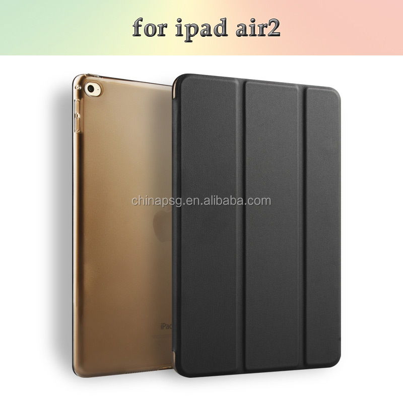 For New iPad Air Robot Design Hard Plastic Rubber Protective Case with Kickstand
