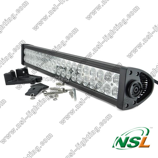 21 inch 120W Off-Road LED Light Bar Driving Light Waterproof Spot Beam Long Distance Lighting