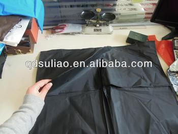 zipper PP nonwoven bags for clothes/dresses packing
