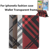 new for iphone 6s case fashion wallet flip phone cases for apple 6S cover
