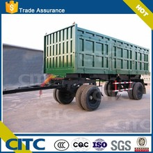 High quality tipper/farm goods dump trailer with draw bar CITC