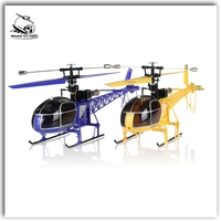 Wltoys V915 Seeker 2.4G 4CH RTF Lama Remote Control RC Helicopter with 6-axis gyro