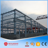 China Factory Price Steel Structure Design Factory Shed Fabricated House Building Kit Light Type Prefab Construction Warehouse