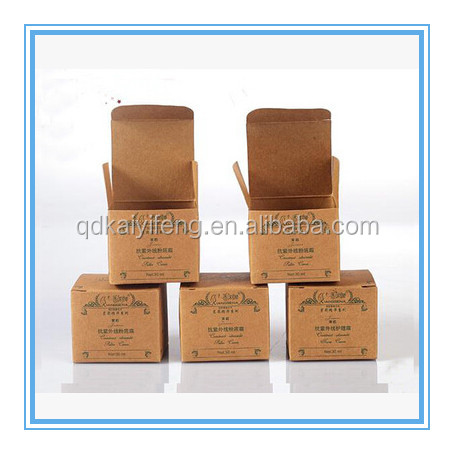 cardboard cosmetic face mask/ skin care cream /olive oil packaging boxes