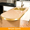 Newstar quartz countertop manufacturers for kitchen island top