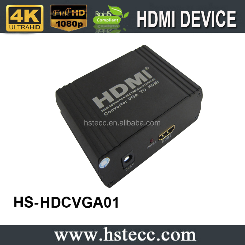 VGA +R/Lto HDMI Converter with R/L Analog Audio Output