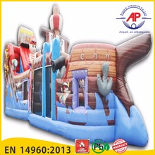 2016 top seller used inflatable water slide for sale