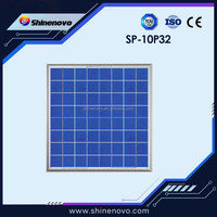 Low price 10w polycrystalline pv solar panel