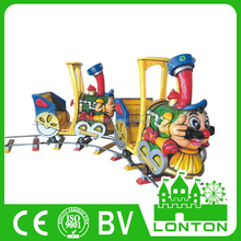 Commercial Electric Ride On Train Funfair Mini Train For Kids