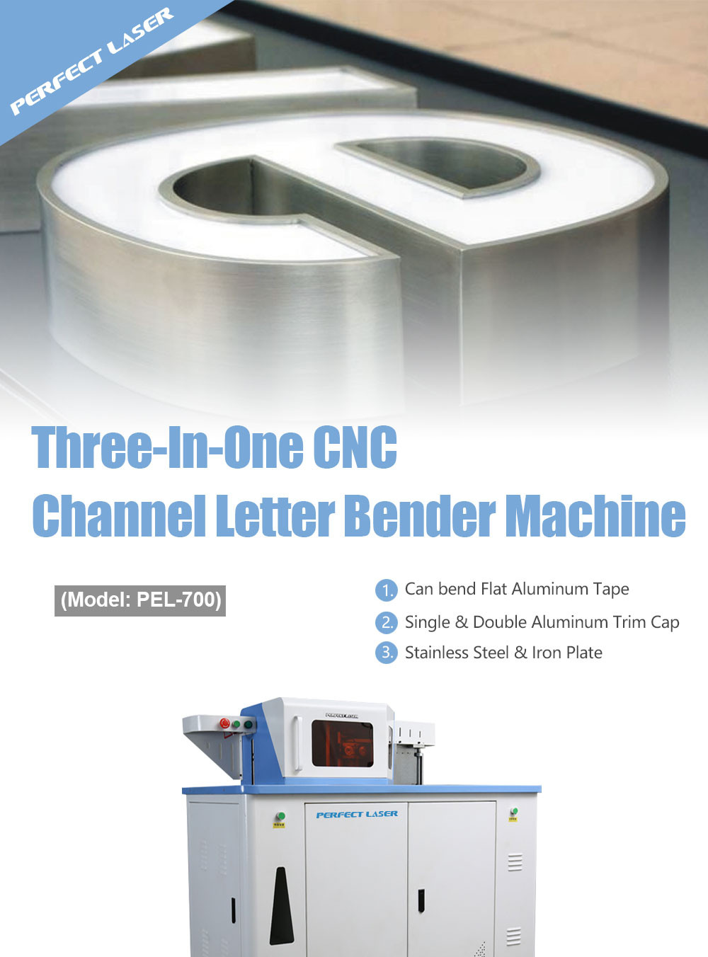 CNC Channel Letter Bending Machine for Outdoor Signs