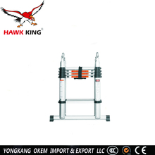 3.2 m Joint telescopic step ladder, easy folding ladder, telescopic extension ladder