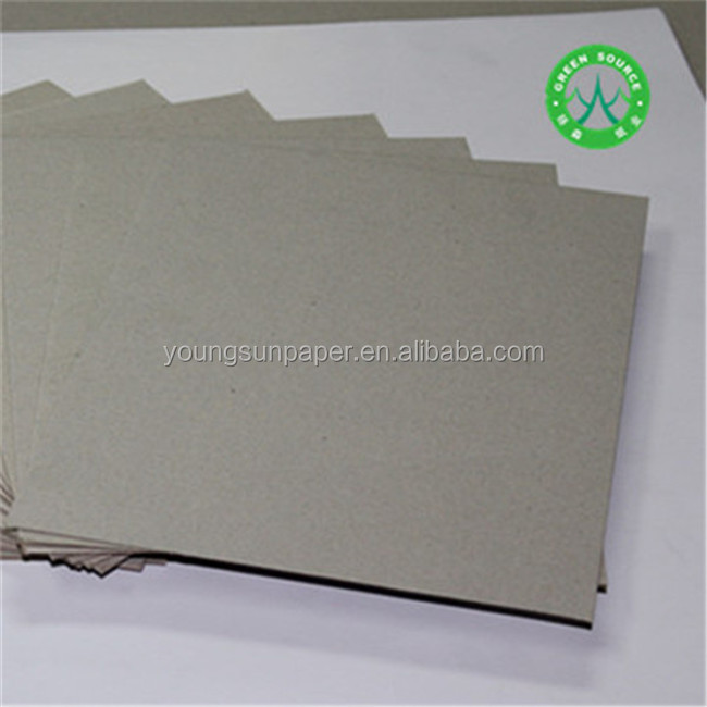 Gray Construction Paper Recycling Thick Paper Export Paperboard