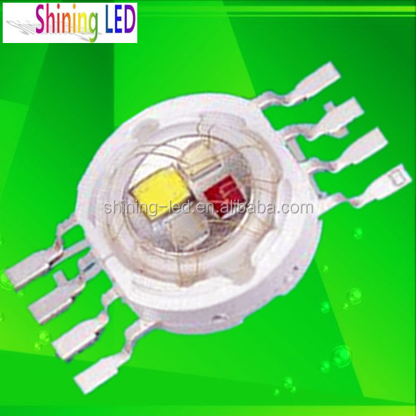 Light Emitting Diode 8 Pin 4 Chips in One Red Green Blue White 4*1 Watt High Power LED RGBW Chip