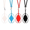 Custom Silicone Lanyard Cell Phone Strap Holder Necklace Wrist Strap for Smart Phone