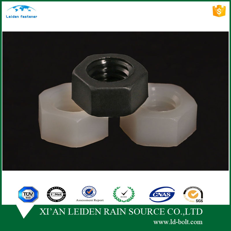 "cheap high quality 1/4""-20 plastic cap for hex nut for din985"
