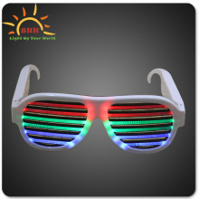 2016 Led Light Up Flashing Rock Star Shutter Shades Party Glasses