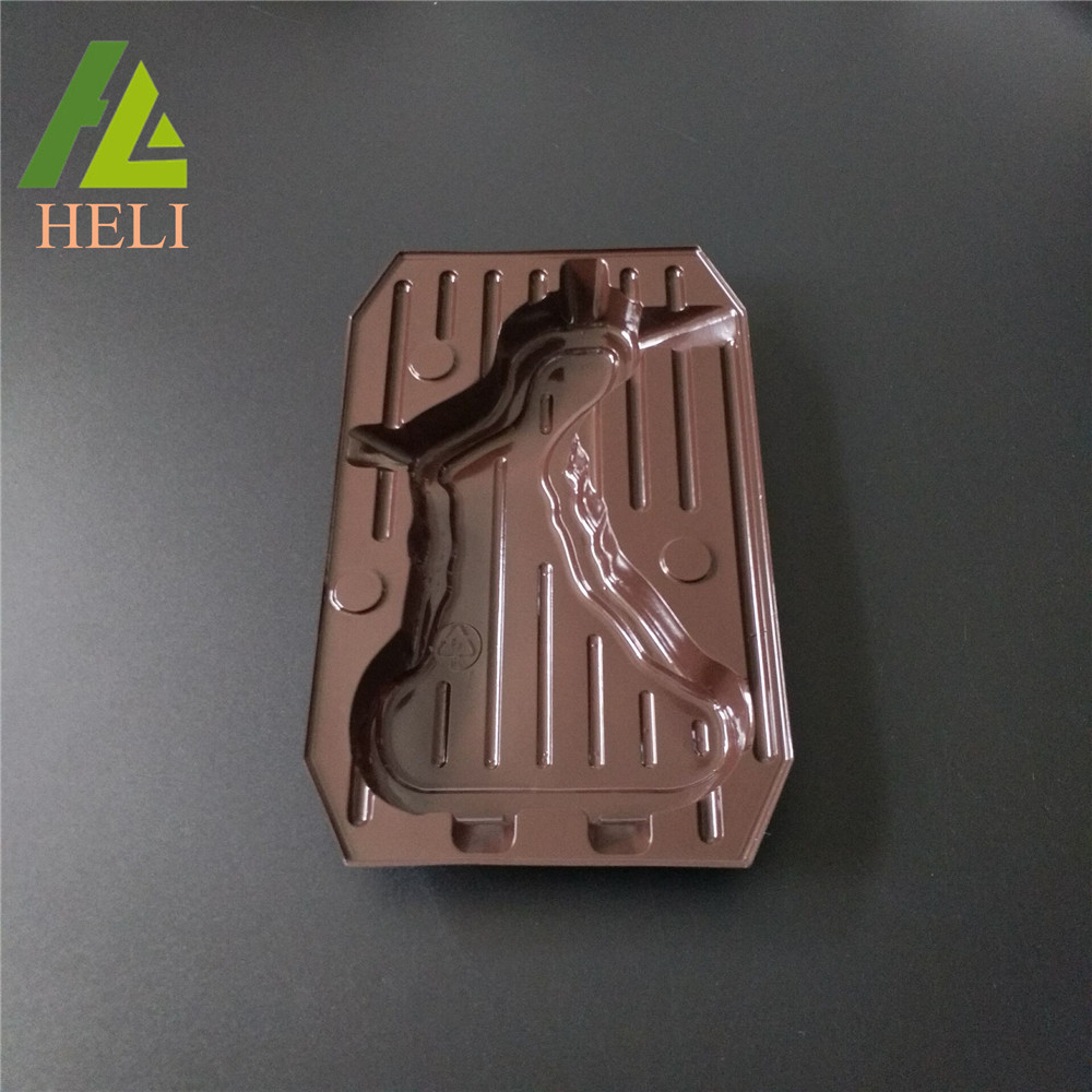 Plastic Tray For Rabbit Chocolate Packaging