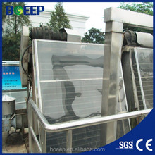 Fine bar screen for industry waste water treatment