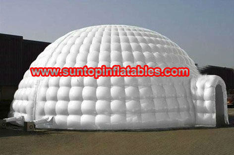 most popular inflatable igloo tent for sales with good price