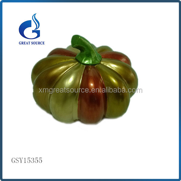 promotional halloween crafts wholesale ceramic pumpkin