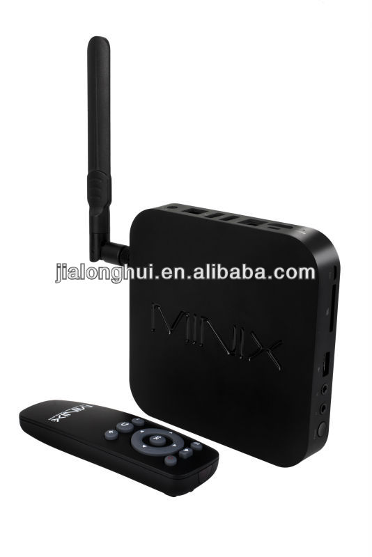 In stock! Minix Neo X7 RK 3188 Quad Core Andriod 4.2 TV Box Cortex-A9 1.6GHz 2GB RAM 16GB Flash RJ45 MINIX X7