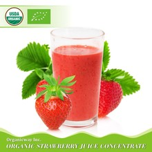 NOP EU Certified Organic Strawberry Juice Concentrate