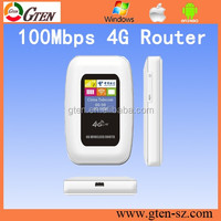 FREE setting 100Mbps lte huawei e589 4g lte mobile pocket wifi hotspot 3G Router fall back 2G GSM