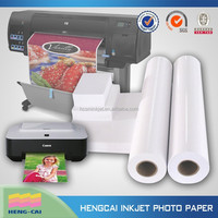 Self-adhesive sticker glossy inkjet photo paper