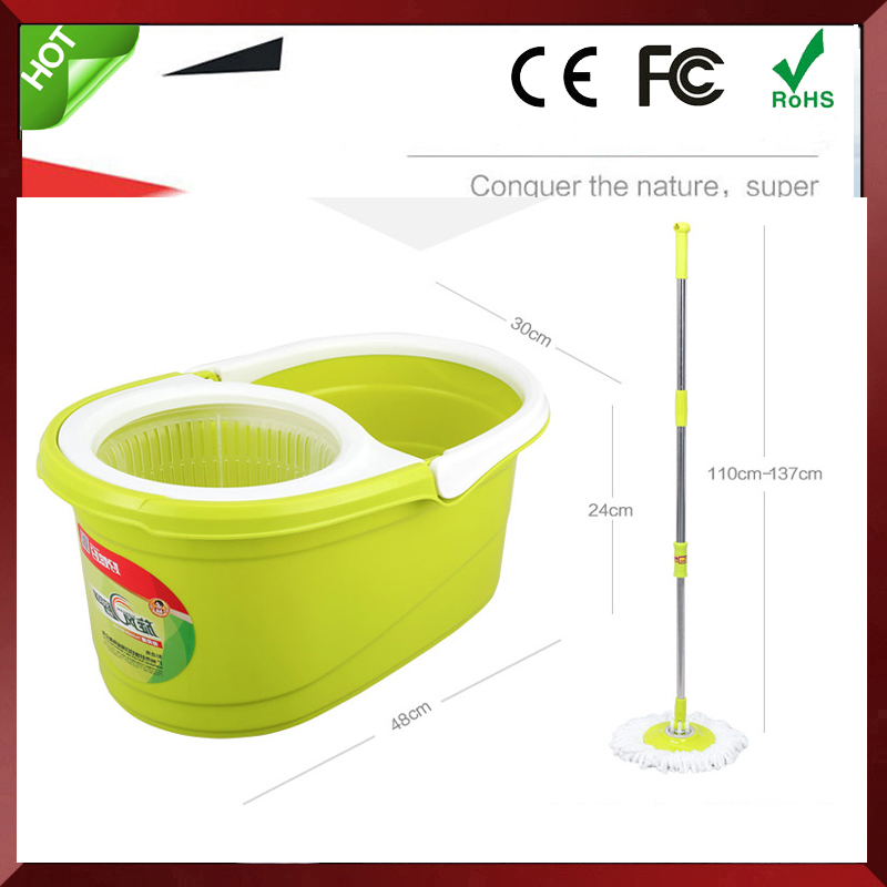 Double 360 Degree Electric Spin Mop