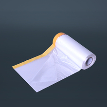 Economic Spray Paint Mask With Adhesive Tape For Building Painting