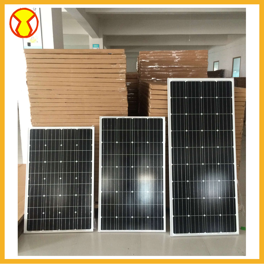 Monocrystalline Flexible Solar Panel for caravans golf cars boats with A grade solar cell