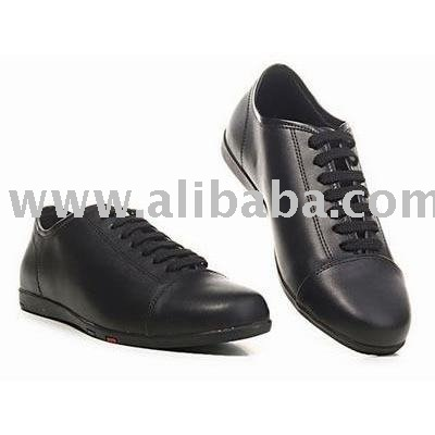 Genuine leather POLO shoes