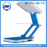 china indoor foldable led solar desk light manufacture portable solar led light