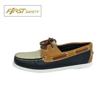 FS2087 Men Hand-Sewn Moccasin 100% Man-made casual Boat shoes
