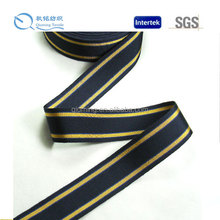 2014 New high quality garment use fashion marine navy stripe ribbon