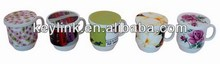 Quality contemporary ceramic imprint able cup