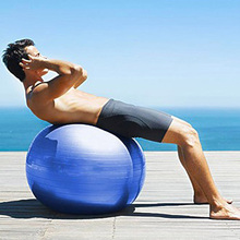 Pvc Anti-Burst 120cm Fitness Exercise Balls Gym Promotional Glowing Color Yoga Ball