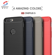 Mobile phone accessories red soft tpu for oneplus 5 case cover,brush mobile phone case for oneplus 5