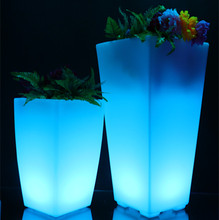 Professional led lighting planters made in China
