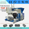 large scale mobile brick making machine QMY10-15 egg laying block machine hollow block making machine