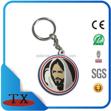 2017 Competitive Price Most Popular custom figure soft rubber pvc keychain keychain