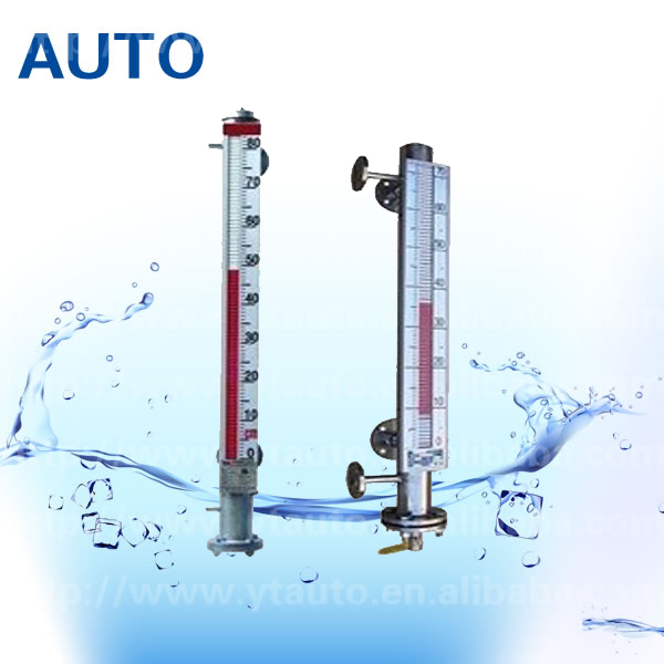 PTFE mechanical level gauge liquid level meter made in China with low price