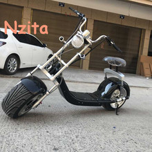 High Quality electric motorcycle 800W 1000W 1500W 60V 20ah seev citycoco