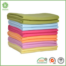Promotional Cheap Polyester Brand Names Throw Blanket