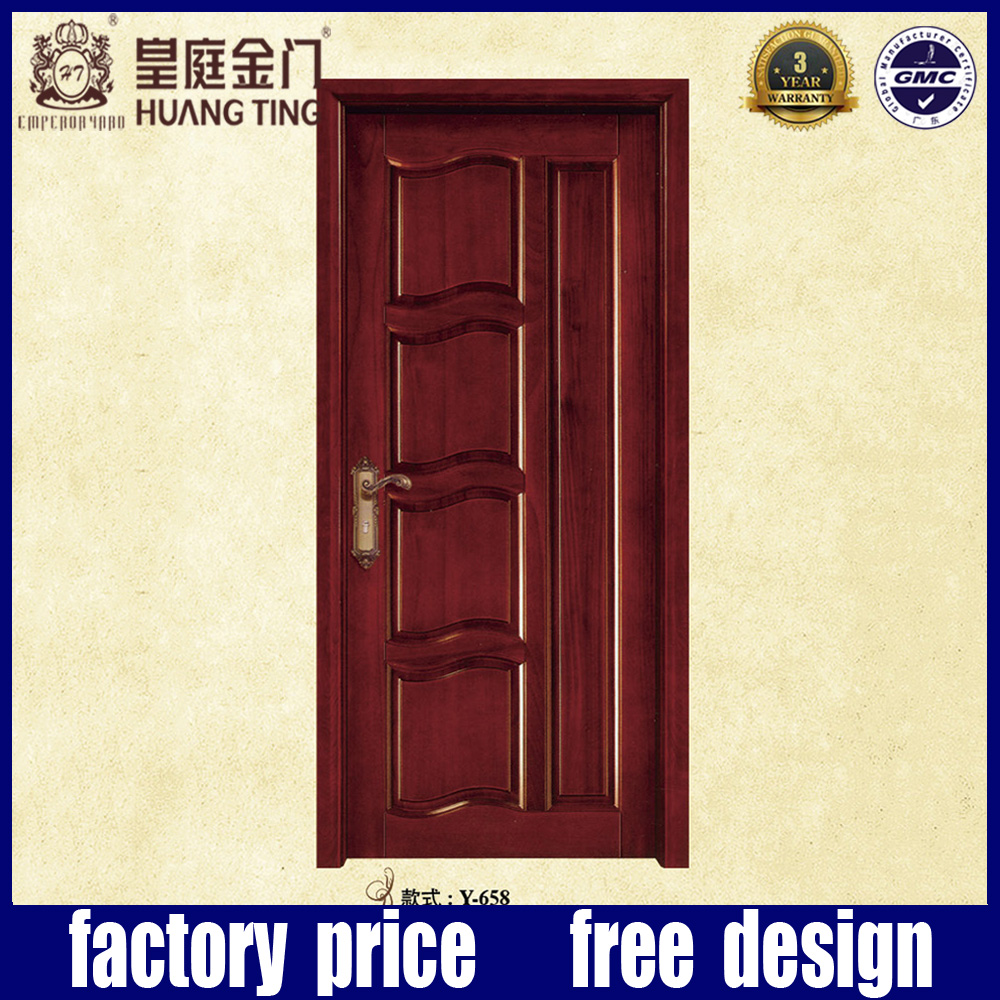 High Quality Custom Solid Wooden Door Malaysia With Cheap Price