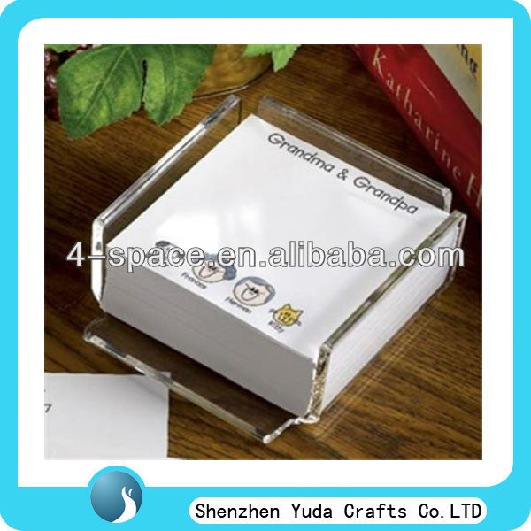 desk card acrylic holder acrylic memo holder