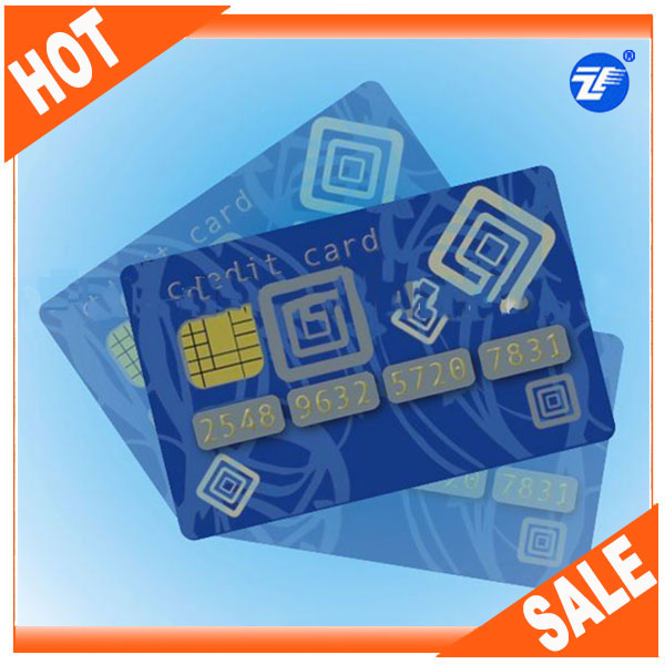 Plastic original atmel series contact smart card with Different Memory