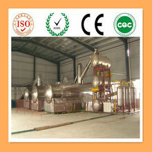 World advanced! waste engine oil recycling machine/ used engine oil